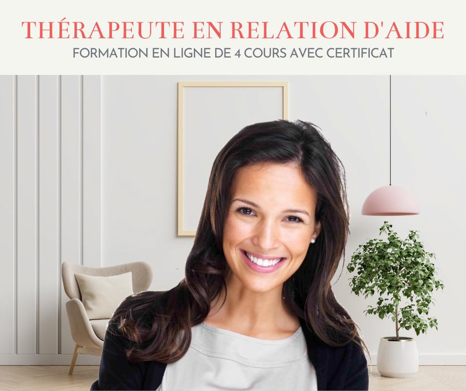 Certificat de Thérapeute en Relation d'Aide