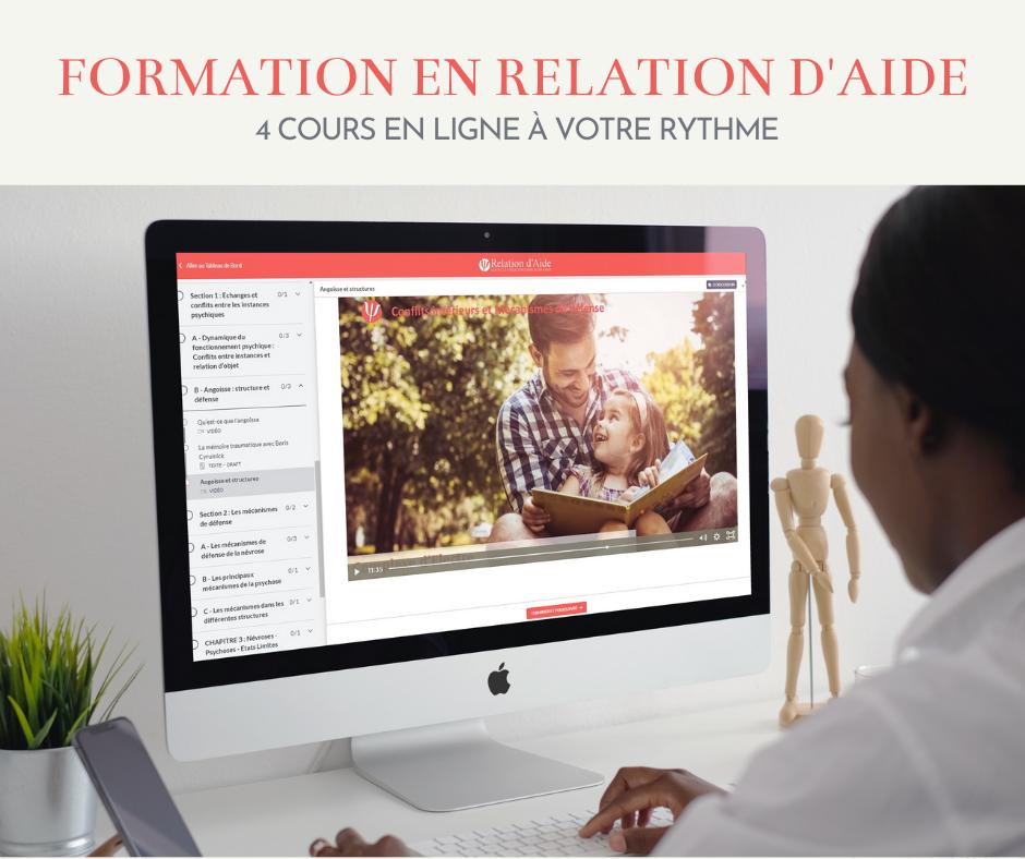 Formation en ligne Relation d'Aide - diplomante